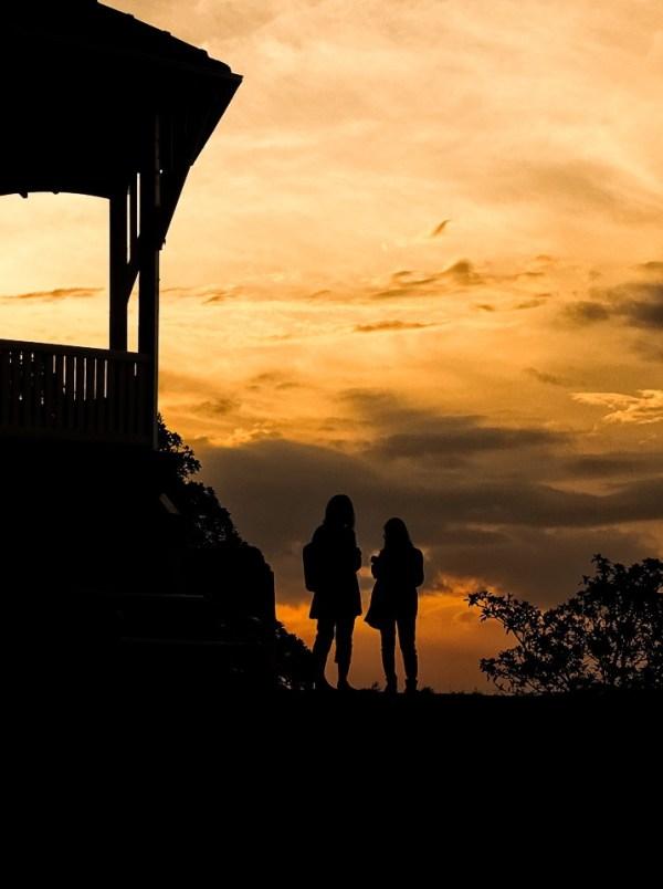 Observatory Hill, Sydney, at twilight