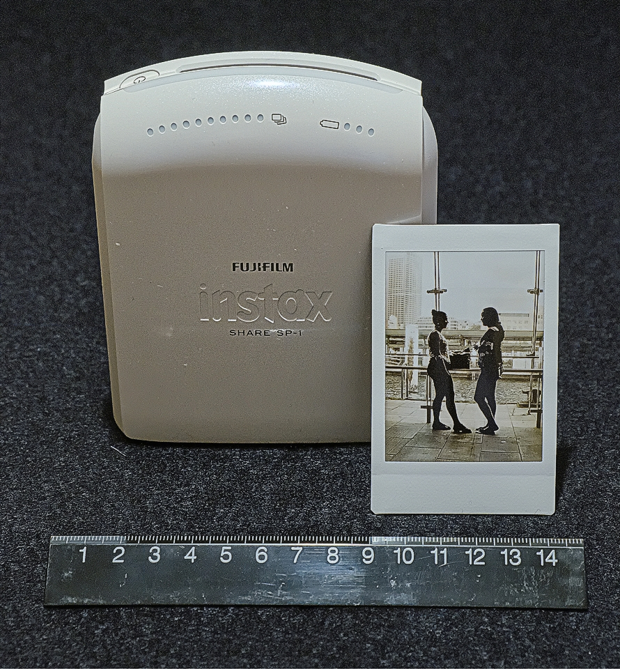 instax sp-1 printer and mini instant film