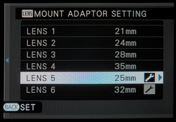 Mount-Adapter-Setting